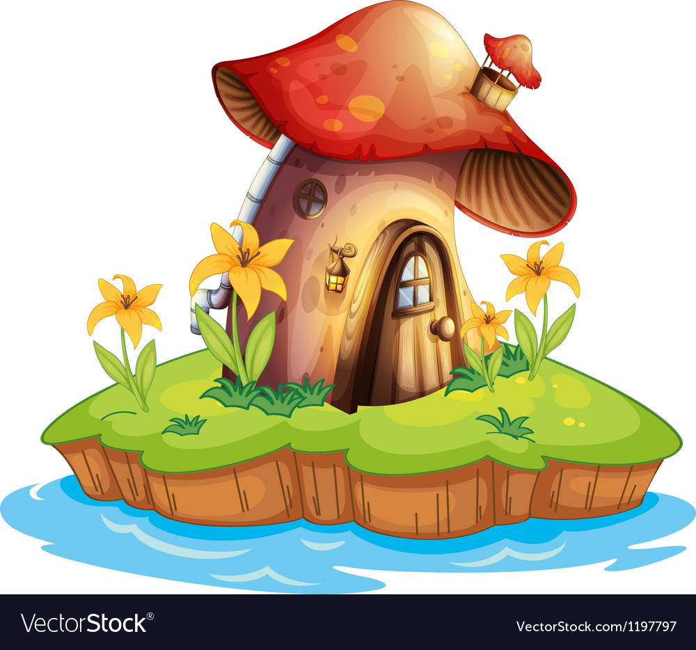 A mushroom house vector | Price: 1 Credit (USD $1)
