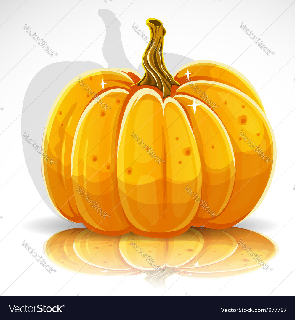 Beautiful halloween pumpkin 1 vector | Price: 3 Credit (USD $3)