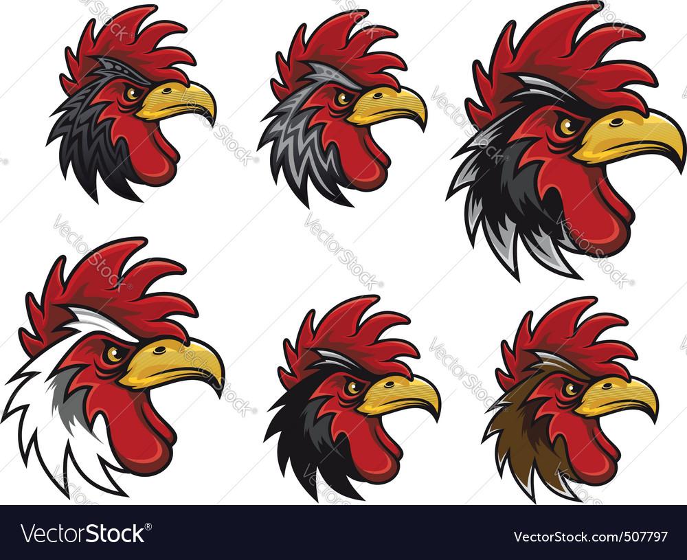 Cartoon cocks vector | Price: 1 Credit (USD $1)