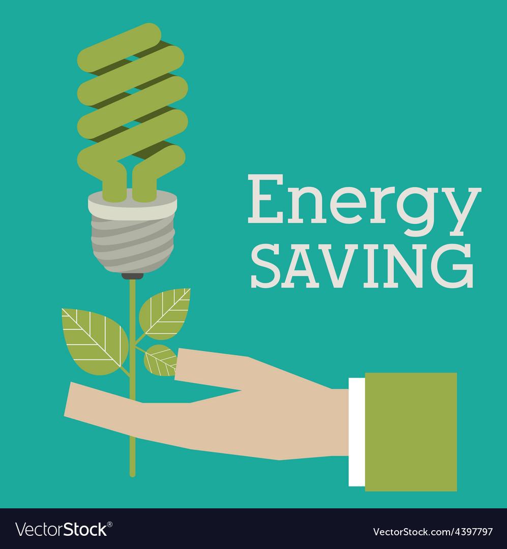 Energy saving design vector   Price: 1 Credit (USD $1)
