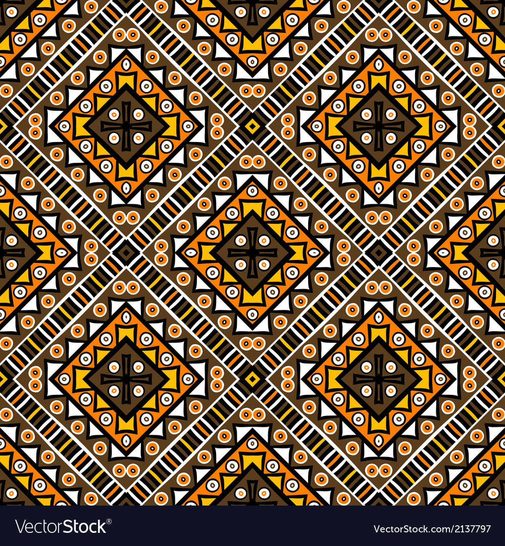 Ethnic motifs background vector | Price: 1 Credit (USD $1)