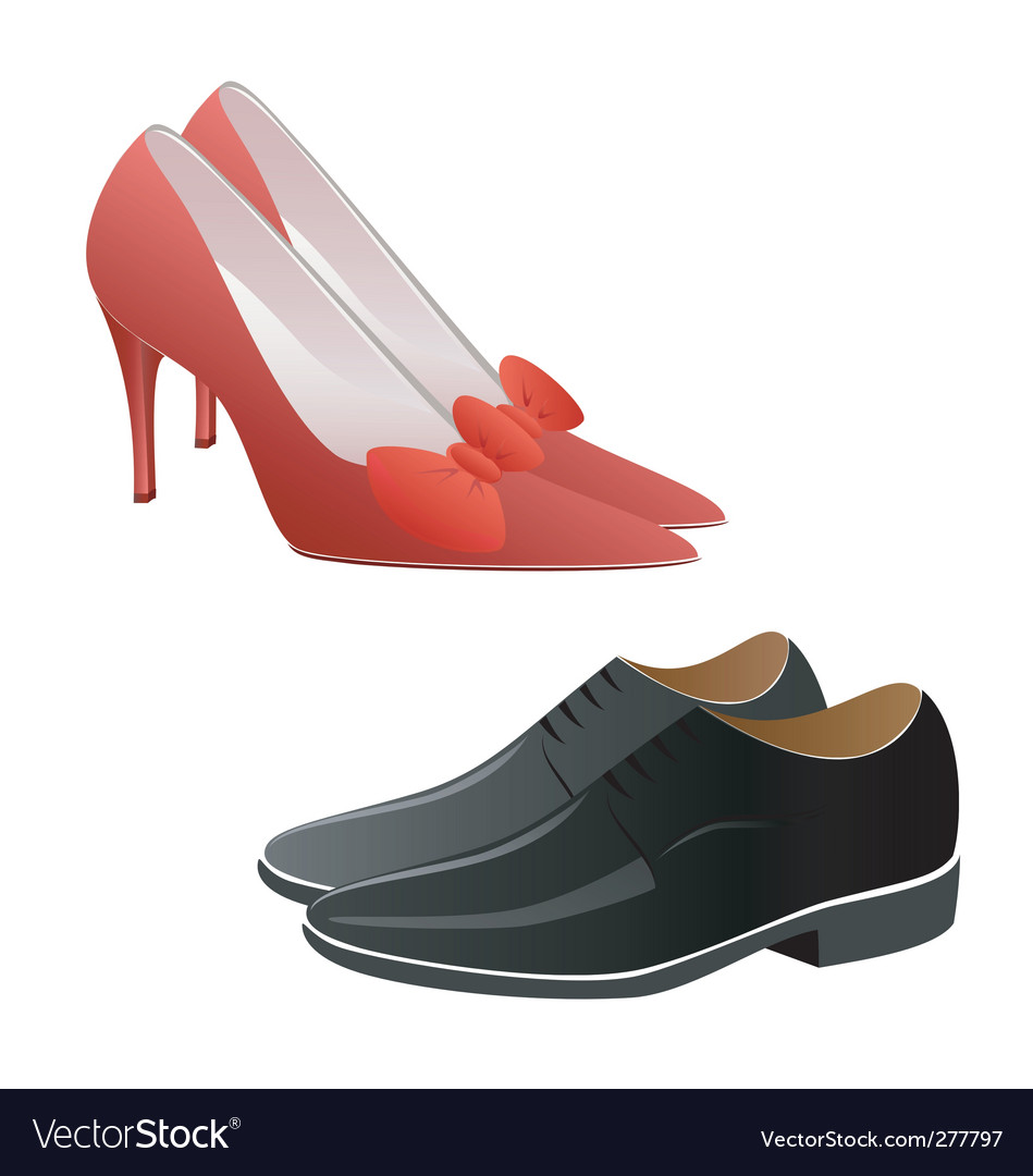 Fashion shoes vector | Price: 1 Credit (USD $1)