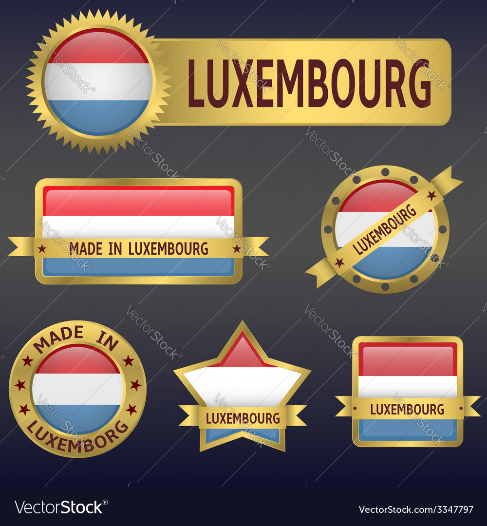 Luxembourg vector | Price: 3 Credit (USD $3)