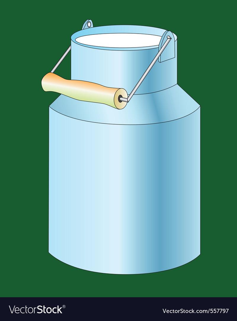 Milk cans vector   Price: 1 Credit (USD $1)