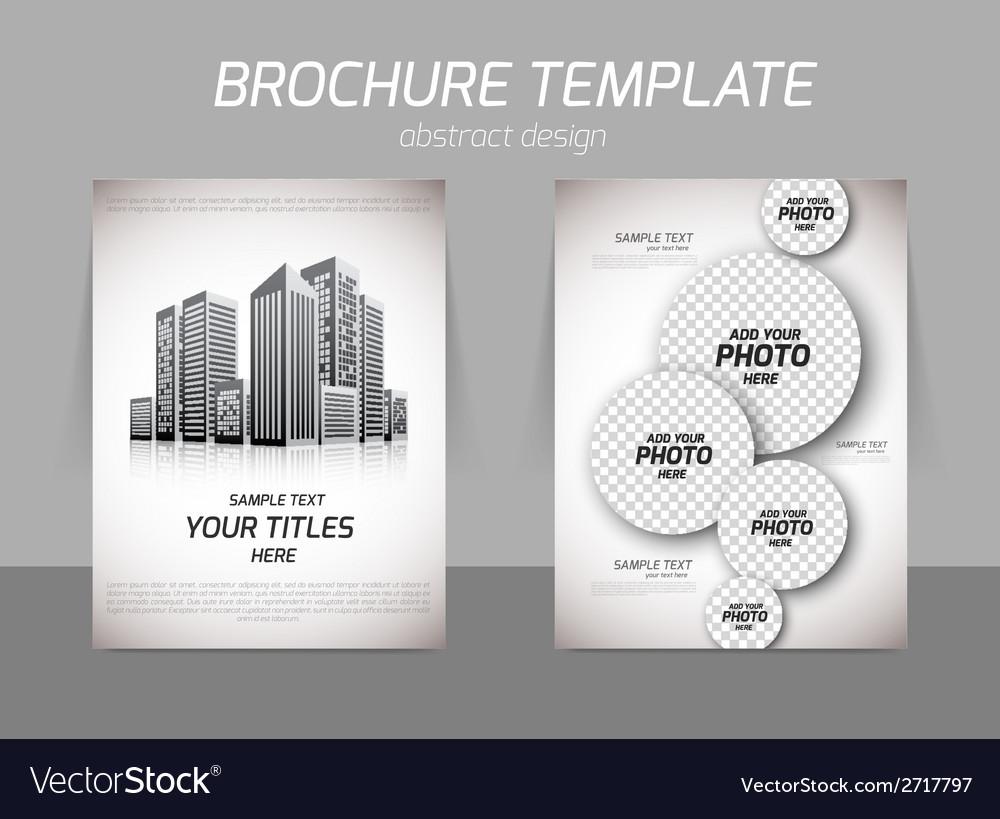 Realt estate flyer vector | Price: 1 Credit (USD $1)