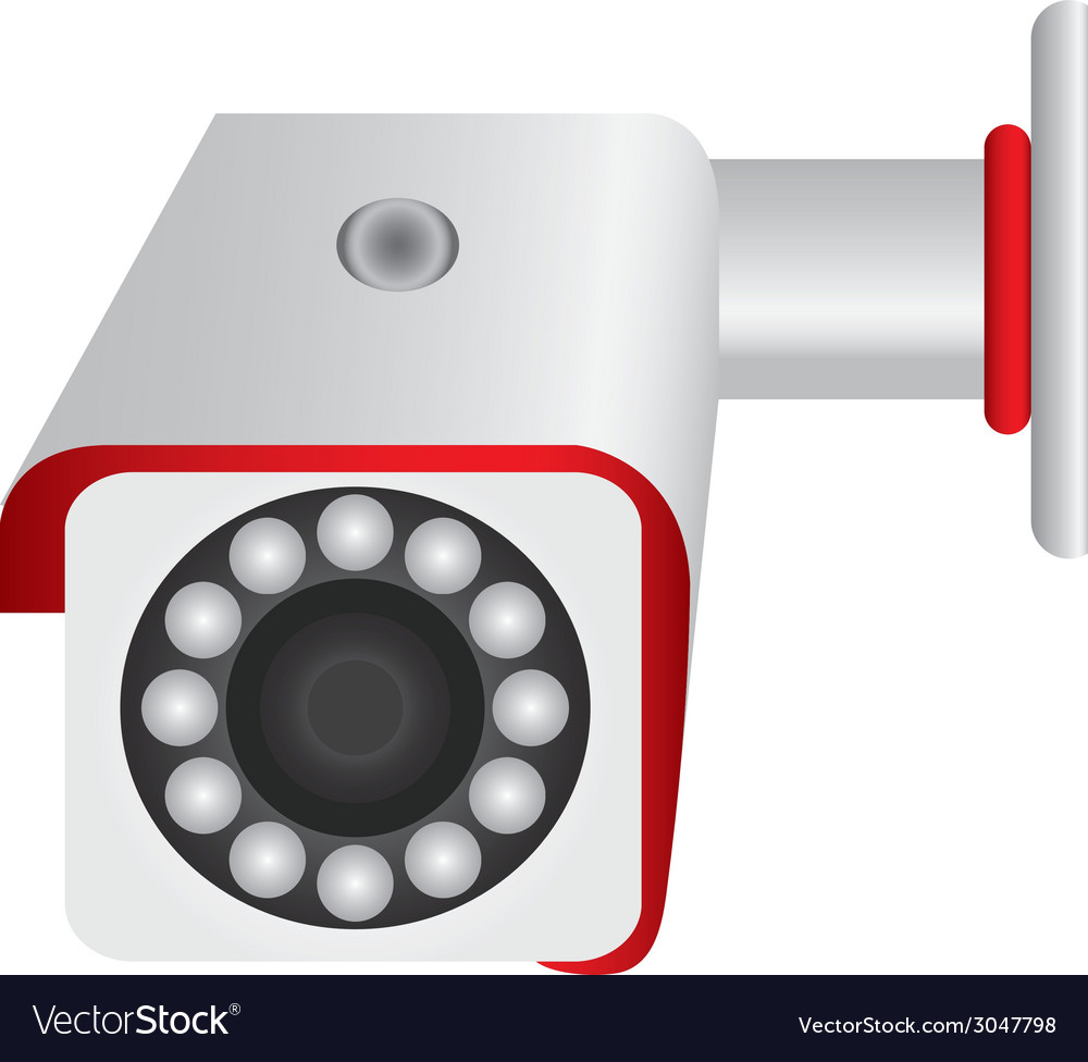 Ai10 cctv object big security vector | Price: 1 Credit (USD $1)