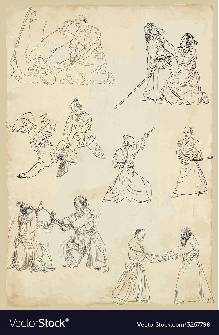 Aikido - collection vector | Price: 1 Credit (USD $1)