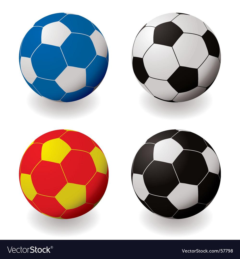 Football variation vector | Price: 1 Credit (USD $1)