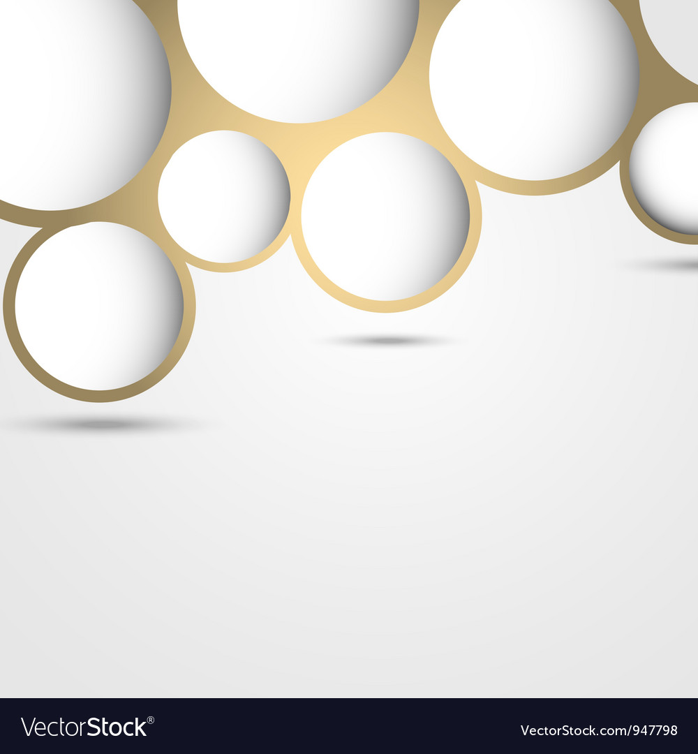 New design abstract bubble background vector | Price: 1 Credit (USD $1)