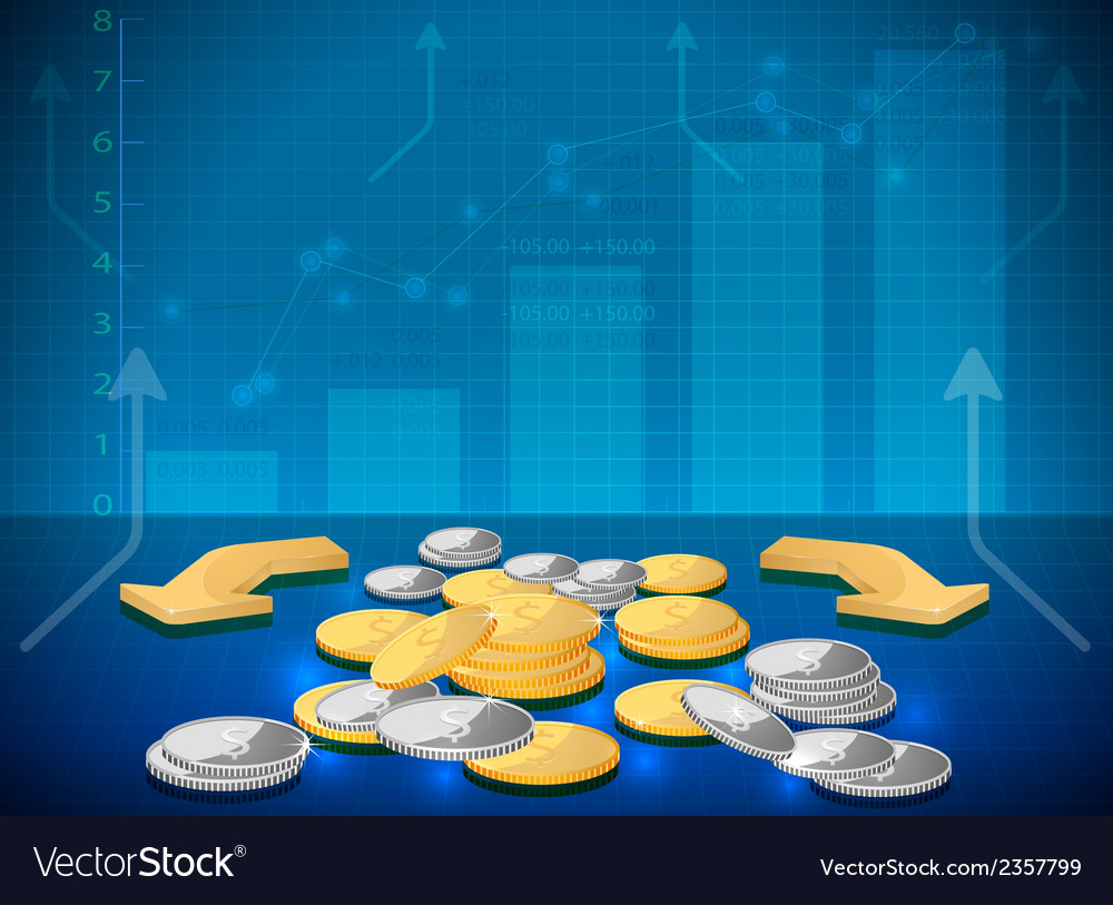 Investment on the rise vector | Price: 1 Credit (USD $1)