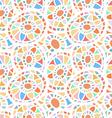 Abstract seamless mosaic vector