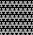 Abstract seamless houndstooth pattern vector