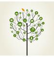 Technics a tree vector