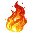 A big fire vector