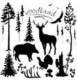 Woodland vector