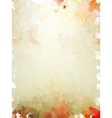 Colorful autumn leaves template pattern eps 10 vector