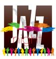 Jazz poster 02 vector