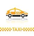 Taxi cab symbol vector