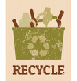 Recycle poster vector