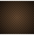 Light brown metal background with round hole and vector