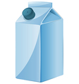 A milk container vector