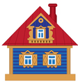 A toy house vector