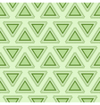 Tribal green seamless pattern vector