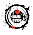 I love dub step vector