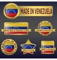 Made in venezuela vector