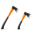 Tool axe 03 vector