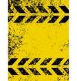 Grungy and worn hazard vector