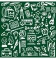 School education - doodles vector