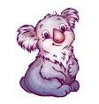 Koala in cartoon style vector