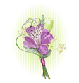 Alstroemeria and eustoma vector