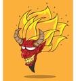 Red devil vector