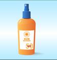 Sunscreen vector