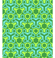 Abstract geometric blue green seamless pattern vector