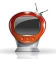 Cute tv vector