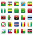 Africa flag vector