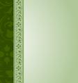 Ornamental document template vector