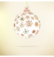 Retro christmas background  eps8 vector