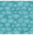 Turquoise abstract pattern vector