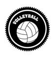 Volleyball ball vector