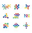 Nano symbols vector