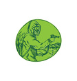 Herbicide pesticide control exterminator spraying vector