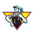Laborer blacksmith vector