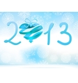 Happy new year 2013 blue  eps8 vector