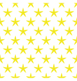 Texture of gold stars vector