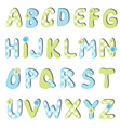 Alphabet set vector