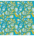 Flowers abstract seamless pattern vector